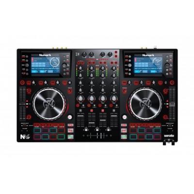 Numark DJ controller: NVII - Zwart