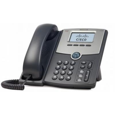 Cisco IP telefoon: SPA502G - Zwart