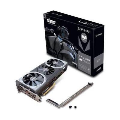 Sapphire videokaart: NITRO+ Radeon RX Vega56 8G HBM2 - Zwart