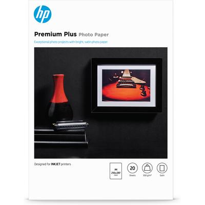 HP Premium Plus matglanzend, 20 vel, A4/210 x 297 mm Fotopapier