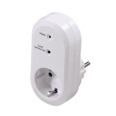 Hama power extrention: Remote Controlled Socket, indoor - Wit