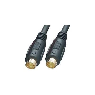 Lindy : 35556 - 20m S-Video Cable - Zwart