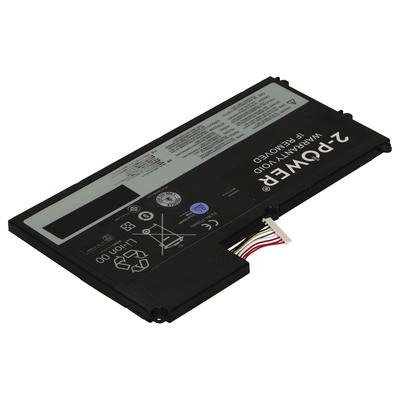 2-power notebook reserve-onderdeel: 11.1V 4220mAh Li-Polymer Laptop Battery - Zwart, Grijs