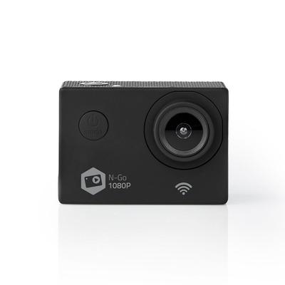 """Nedis 2"""" TFT, 12 MPixel, 120°, microSD, HDMI, Wi-Fi, USB, Li-Ion Actiesport camera - Zwart"""