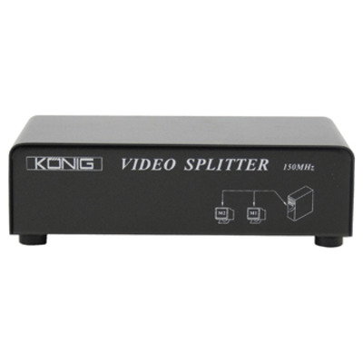 König video splitter: VGA, 1600 x 1200, 150MHz - Zwart