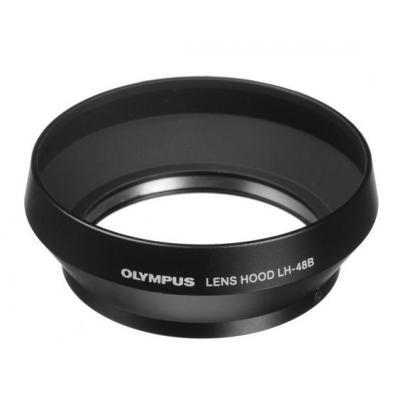 Olympus lenskap: LH-48B - Zwart