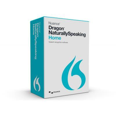 Nuance stemherkenningssofware: Dragon NaturallySpeaking Home v13