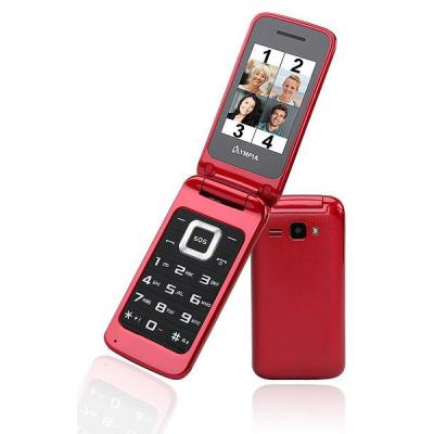 Olympia Luna Mobiele telefoon - Rood