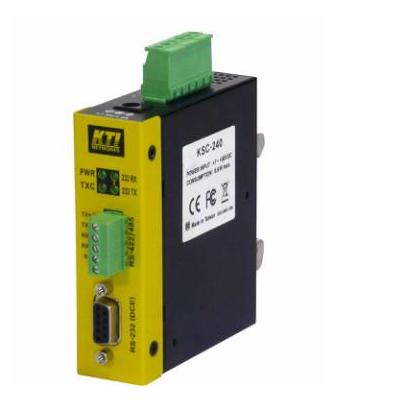 KTI Networks KSC-240 - RS-232 to RS-485, RS-232 to RS-422, Duplex ST, Duplex SC, single SC Seriele .....
