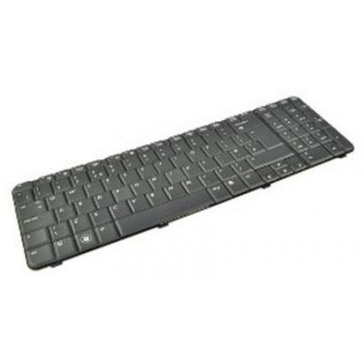 2-power notebook reserve-onderdeel: Keyboard, UK, Black - Zwart