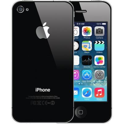 2nd by renewd smartphone: iPhone 4S - Zwart 8GB (Refurbished ZG)