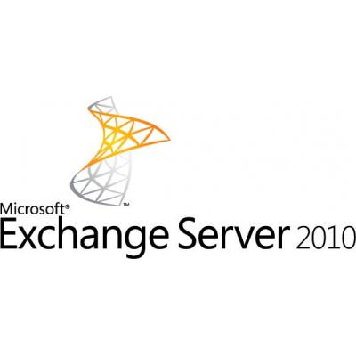 Microsoft software: Exchange Server 2010 Enterprise CAL, Sngl, L/SA, OLP-NL, UsrCAL w/o Srvcs