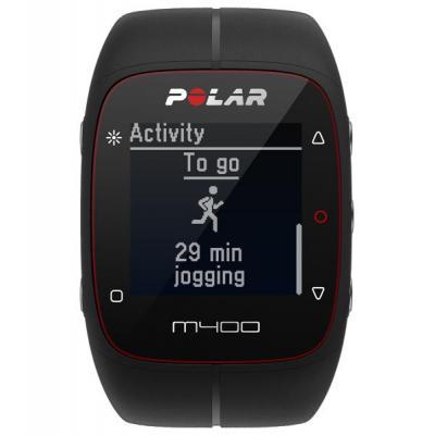 Polar sporthorloge: M400 - Zwart