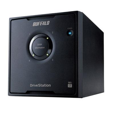 Buffalo DriveStation HD-QHU3 SAN - Zwart
