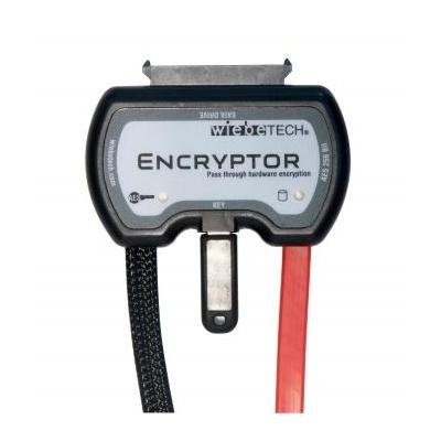 Wiebetech hardware authenticator: Encryptor - Zwart