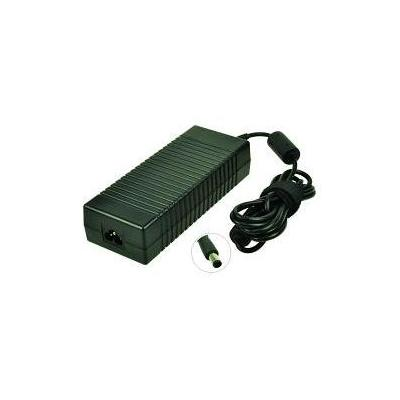 2-power netvoeding: AC Adapter 19V 7.1A 135W w/ Power Cable for HP Compaq DC8700P - Zwart