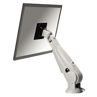 "Newstar monitorarm: Tilt/Turn/Rotate Desk Mount (grommet) for 10-30"" Monitor Screen, Height Adjustable (gas spring) - ....."