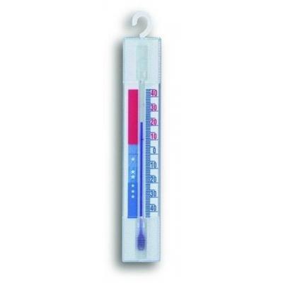 Tfa omgevingsthermometer: Freezer-fridge-thermometer - Wit