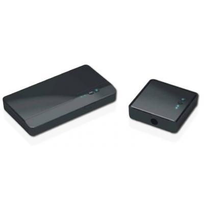 Optoma AV extender: Full HD, 2D/3D 1080p, 4.9 - 5.9GHz, 100-240V AC in, 5V DC out - Zwart