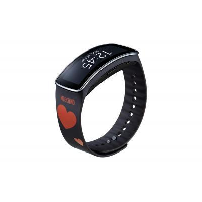 Samsung horloge-band: ET-SR350R - Antraciet, Rood