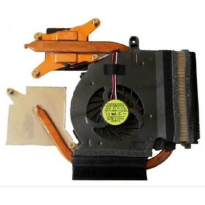 Samsung notebook reserve-onderdeel: HeatSink Fan - Zwart, Koper