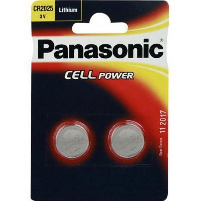 Panasonic batterij: CR2025L - Metallic