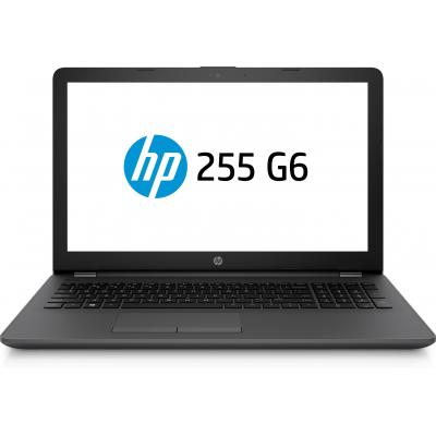 Hp laptop: 255 G6 - Zwart (Renew)