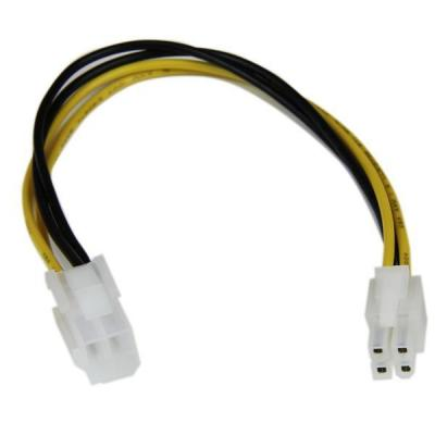 Startech.com electriciteitssnoer: 20cm ATX12V 4-pins P4 CPU Verlengkabel Voeding M/F