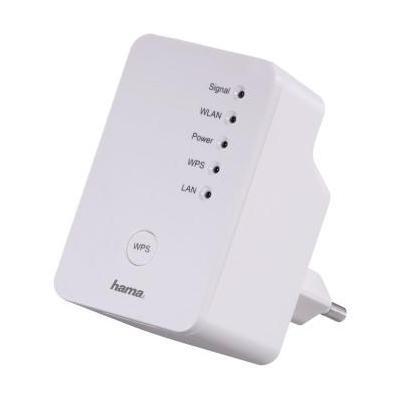 Hama wifi-versterker: N300 - Wit