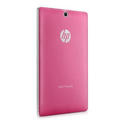 Hp tablet case: Slate 7 VoiceTab Pink Back Cover - Roze