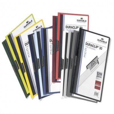Durable DURACLIP 30 Stofklepmap - Multi kleuren