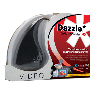 Corel video capture board: Dazzle DVD Recorder HD