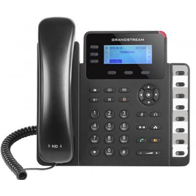 Grandstream Networks IP phone,3 SIP accounts, 3 line keys, HD audio, PoE, 2 Gigabit ports,