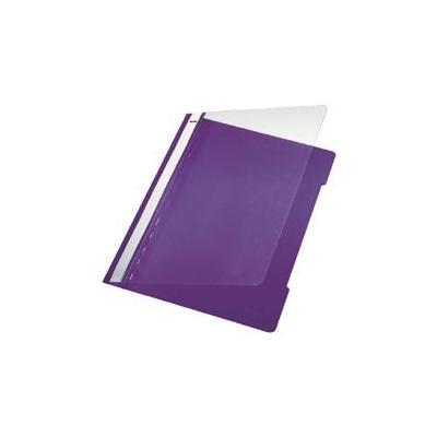 Leitz Standard Plastic File A4 PVC Violet (1 stuks) Stofklepmap
