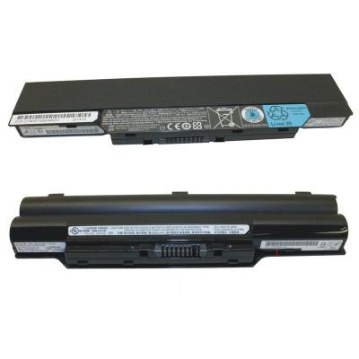 Fujitsu 1 st Battery 6 Cells 6700 MAH Notebook reserve-onderdeel - Zwart