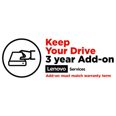 Lenovo 3Y Keep Your Drive Garantie