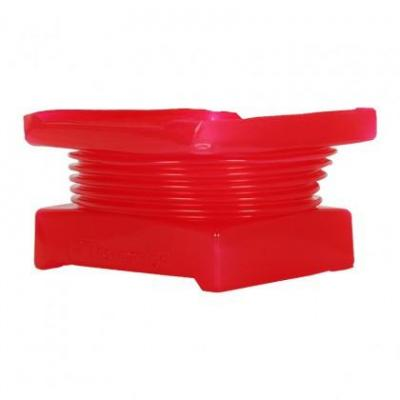 Thermalright cooling accessoire: Fan duct, 140 mm, red - Rood