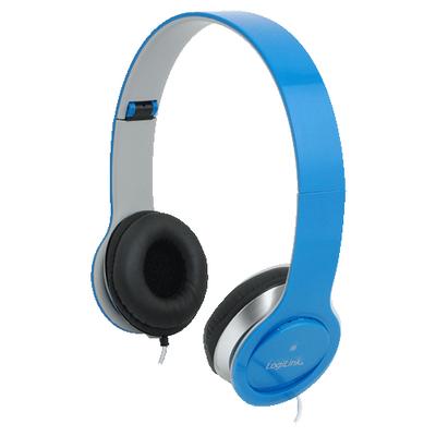 LogiLink HS0031 Headset - Blauw