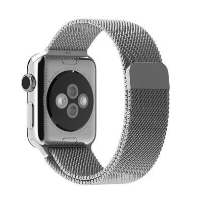 Apple horloge-band: 38mm Milanese Loop - Roestvrijstaal
