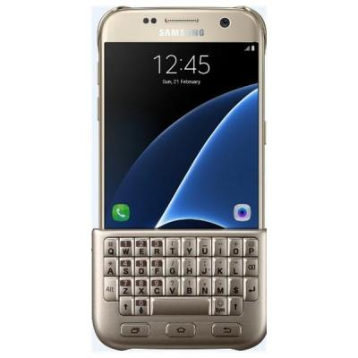 Samsung mobile device keyboard: EJ-CG930UFEGDE - Goud, QWERTY