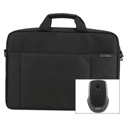 "Acer 15.6"" Options Pack Care Gold laptoptas - Zwart"