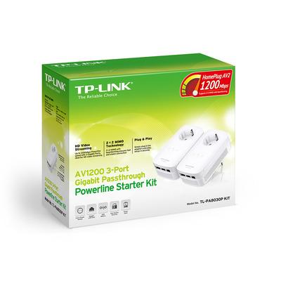 TP-LINK AV1200 Powerline adapter - Wit