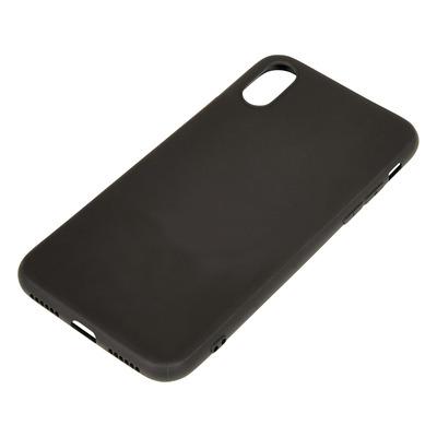 Sandberg Cover iPhone X/XS soft Black Mobile phone case - Zwart