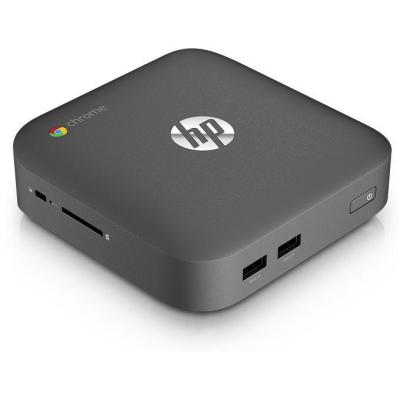 HP pc: Chromebox - Intel Core i7 (2.1GHz) - 16GB SSD - Zwart