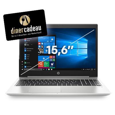 Hp laptop: ProBook 450 G6 15.6 inch i3 8GB 128GB - Zilver