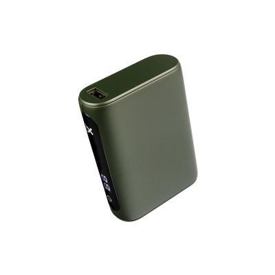Xtorm Li-Po, 10000 mAh, 36.2 Wh, Green Powerbank - Groen
