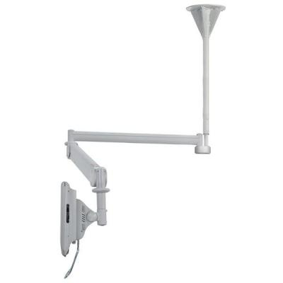 "Newstar flat panel plafond steun: Medical Monitor Ceiling Mount (Full Motion gas spring) for 10""-24"" Screen, Height ....."