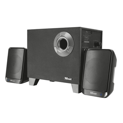 Trust Evon 2.1 - Subwoofer Speakerset met Bluetooth - Zwart Luidspreker set