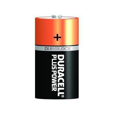 Duracell batterij: Plus Power D, 2 Pack