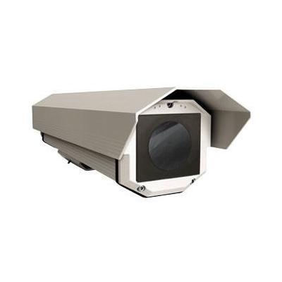 Videotec behuizing: HTG housing 365mm w/sunshield & heater IN 120/230Vac &